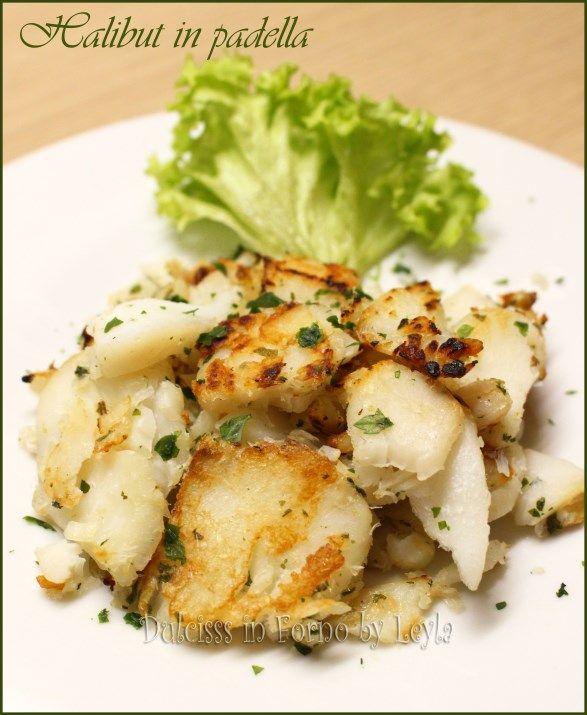 Halibut in padella al prezzemolo, ricetta semplice e poco calorica
