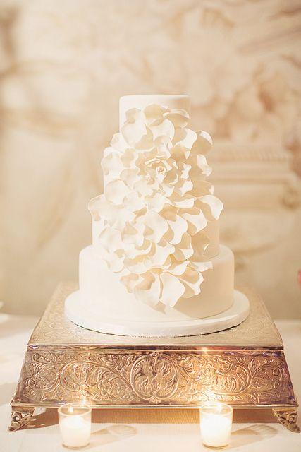 Blooming Flower Wedding Cake | Flickr - Photo Sharing!