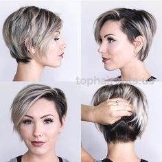 There's no doubt our love of chic, long pixie hairstyles reflects how much thi…