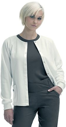 9706 Fleece Jacket: 	Fleece jacket with satin trim and front snap closure. Two pockets and knit cuffs. 100% polyester with satin trim. XS-2XL.
