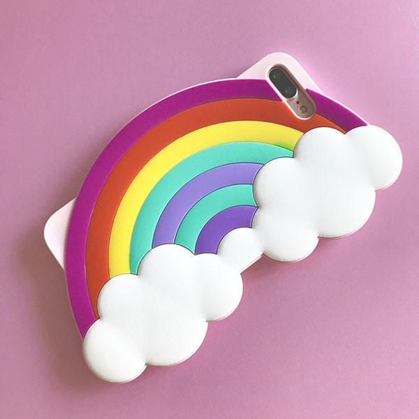 RAINBOW silicone IPHONE CASE