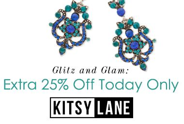 It's your time to shine! All eyes will be on you when you pile on our most glamorous styles. For just 1 day, choose your favorite glitzy jewels and gems and for an additional 25% off already reduced prices.  Just use code GLAM25 at checkout.