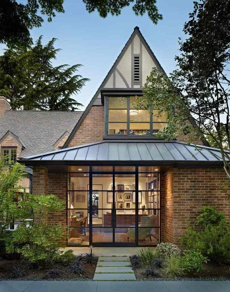 Combination Roof Modern Exterior Roof Design Roof Styles