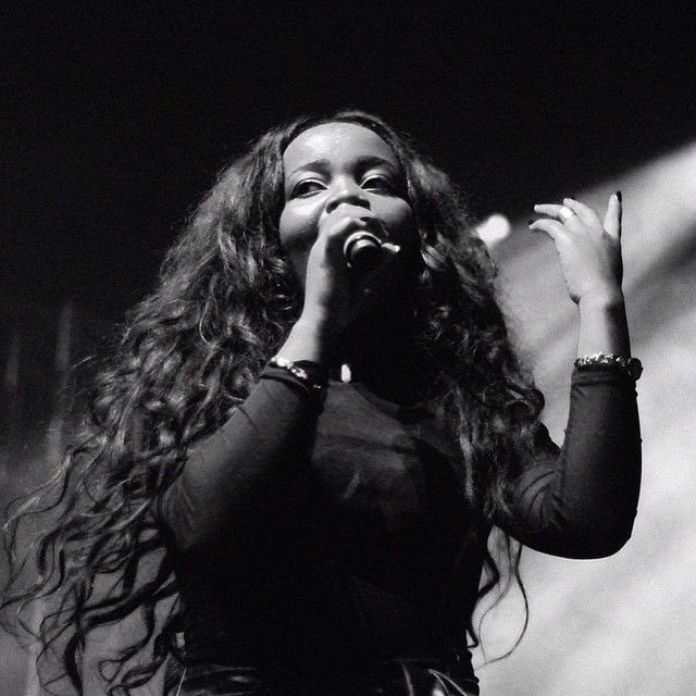Our pic of Tkay Maidza supporting Illy last year.