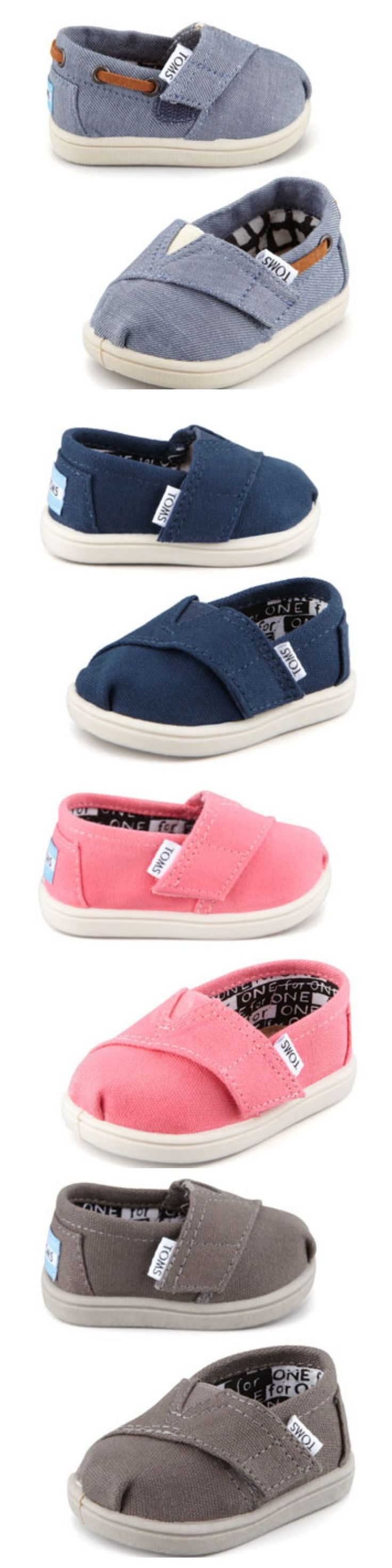 BABY TOMS!!! Need, want, must have!! I personally don't wear them but they are great to put them on a squiggly baby boy