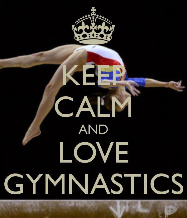 KEEP CALM AND DO GYMNASTICS Poster | Nati | Keep Calm-o-Matic  |Keep Calm Gymnastics
