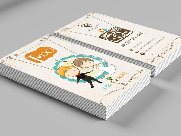 Business Card: PixelFish Concept by Cee Bautista in Fresh and Creative Examples of Business Cards