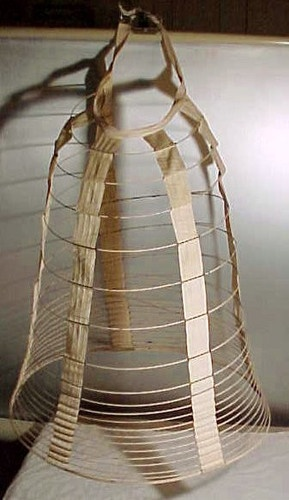 Civil War (1863) Victorian Crinoline Wire Hoop Cage Bustle ...