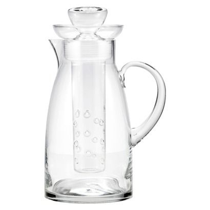 Artland Sedona Infused Glass Pitcher - 78 oz. Expensive but the only infusion pitcher I have found that is glass rather than plastic.