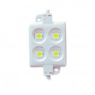 Buy LED 20pcs/string 12V 5050 4LED Module IP65, recommended for channel lighting, cove lighting, replace fluorescent tubes in outdoor signage. http://www.ledcanada.com/12v-5050-module/