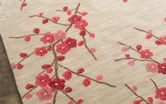 Gorgeous Cherry Blossom Area Rug Gallery
