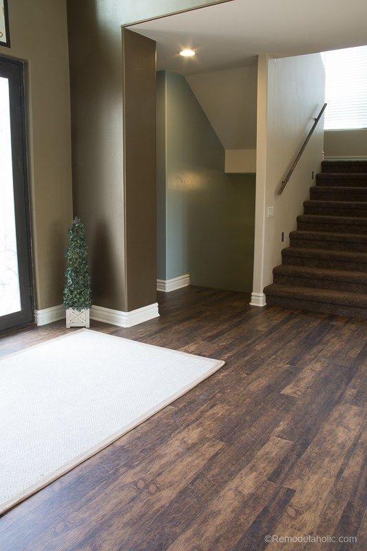 New Waterproof Flooring Remodelaholic 57 Basement In 2019