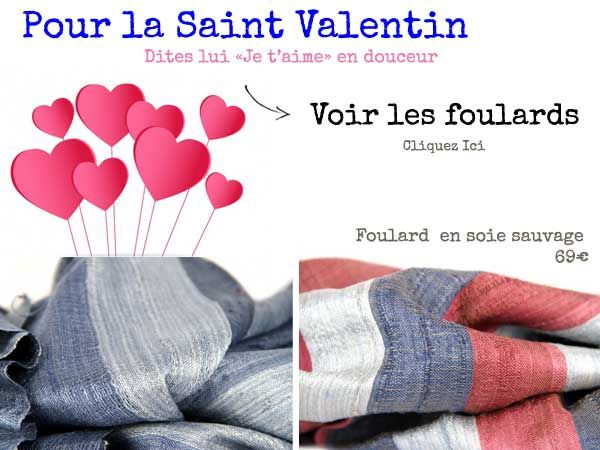29 best foulard violet images on pinterest - Saint valentin originale ...