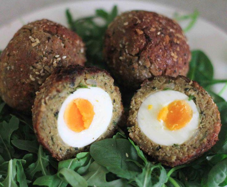 Recipe Falafel Scotch Eggs by Priscilla Thwaites - Recipe of category Main dishes - vegetarian