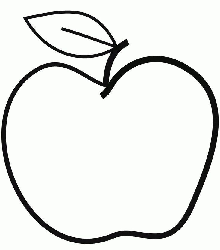 Apfel bilder zum ausdrucken 2938492384234 e1537938370183  #apfel #apple #bilder … – Ausmalbilder Apfel