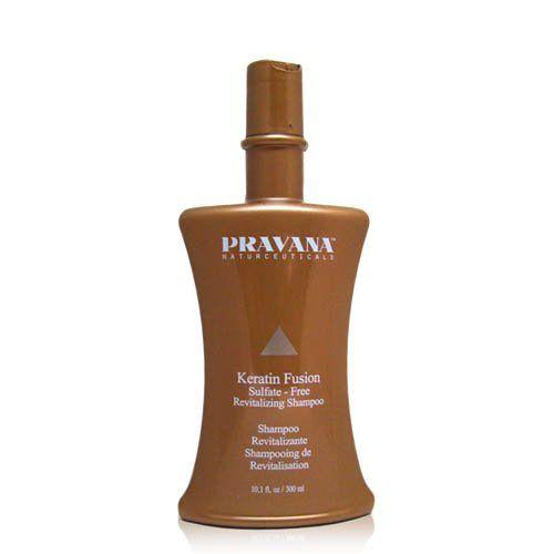 PRAVANA Keratin Fusion Revitalizing Shampoo 10.1 oz. >>> For more information, visit image link.