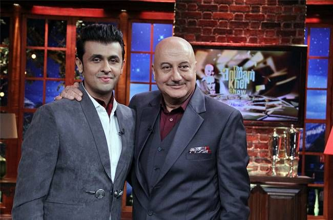 Sonu Nigam to talk about his 'special bonding' with his son in The Anupam Kher Show