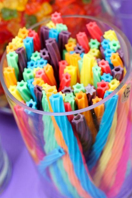 Pretty rainbow Twizzlers!