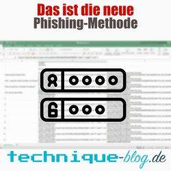 das ist die neue phishing-methode