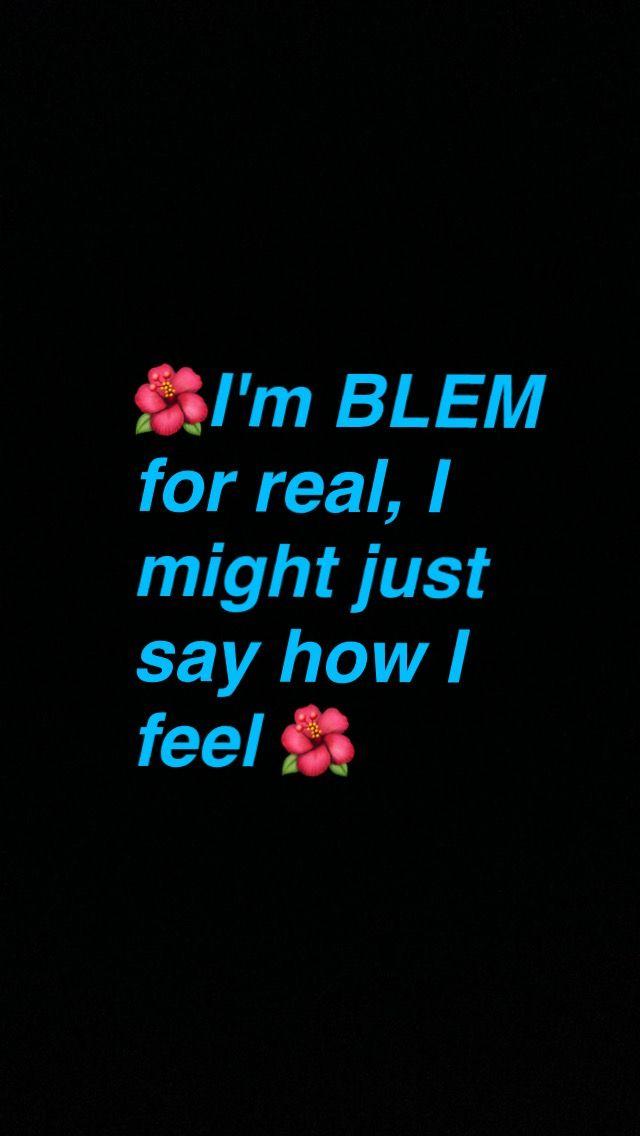 BLEM lyrics from More Life album by Drake  #MoreLife