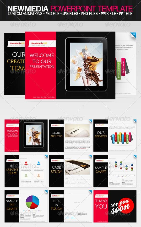 47 best powerful powerpoint ideas images on pinterest creativity newmedia ppt template by drawzen on deviantart toneelgroepblik Choice Image