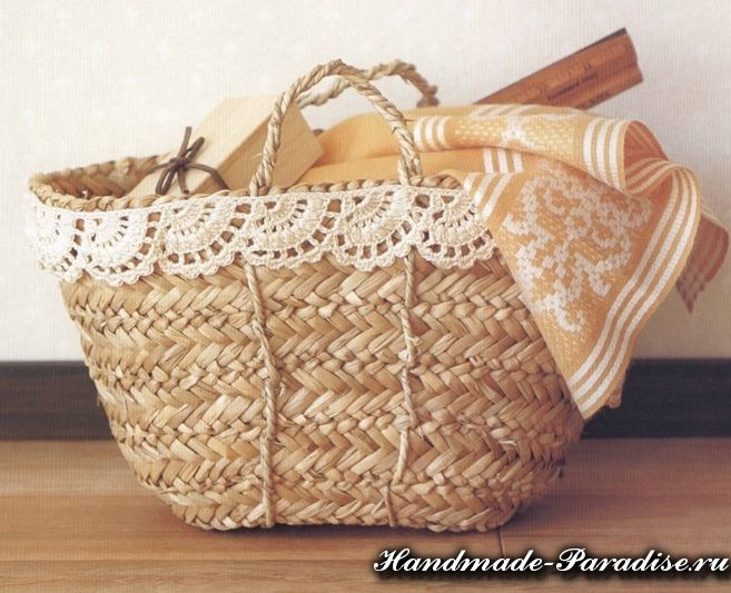 Схемы вязания кружева крючком - Handmade-Paradise
