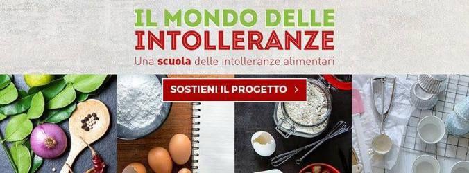 Scuola per le Intolleranze alimentari: sostieni il progetto