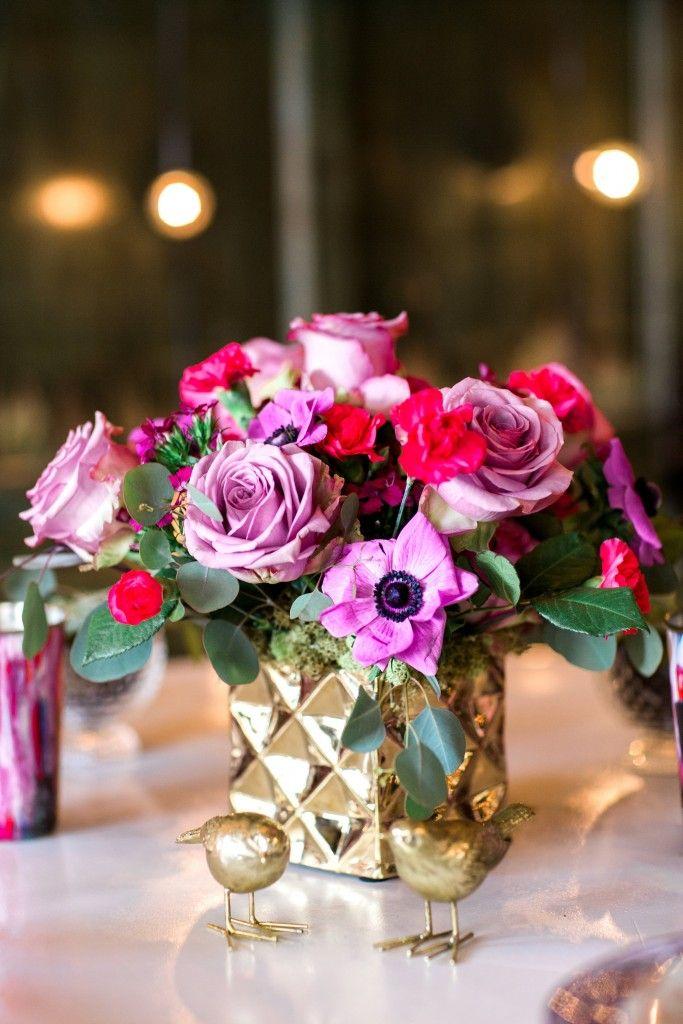 wedding shower centerpieces beach theme%0A A Vibrant  Whimsical Bridal Shower
