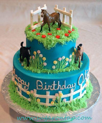 Olivia's Horse cake                                                                                                                                                     More
