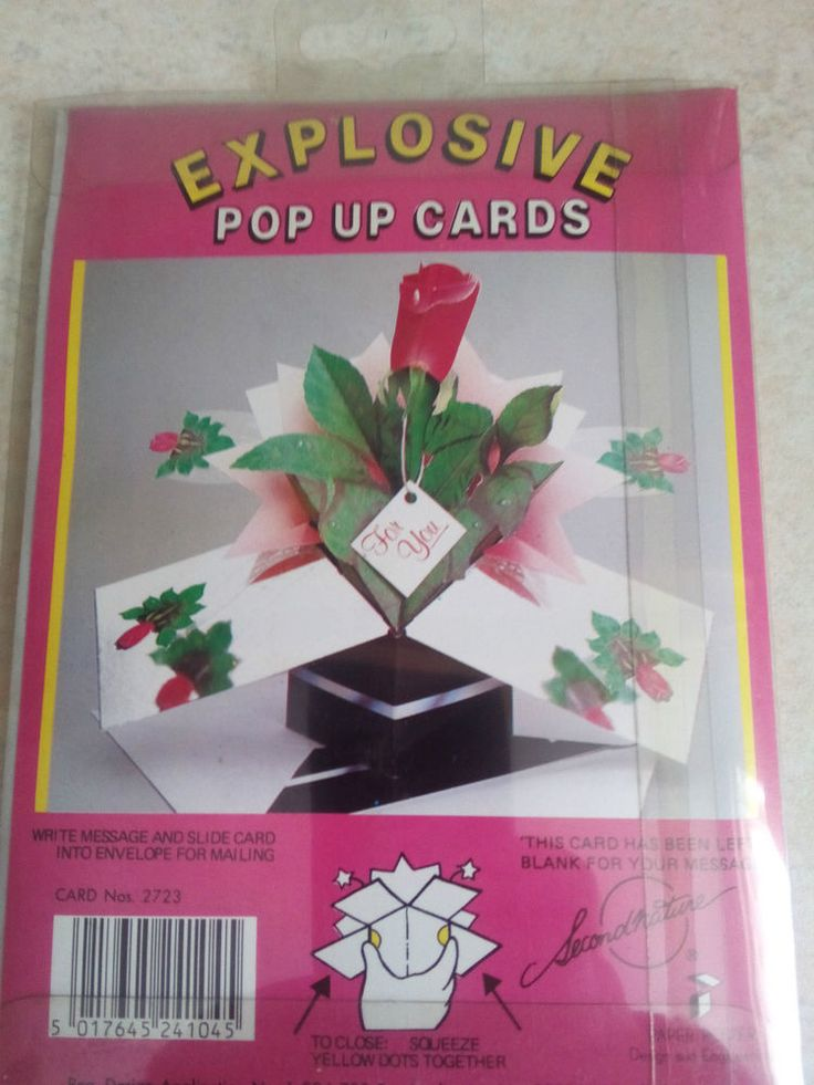 Happy Mothers Day  Send your Mum or Wife   3D ROSES   Pop Up Card blank Verse