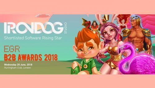 Iron Dog Studio nominated for EGR Awards 2018 Software Rising Star