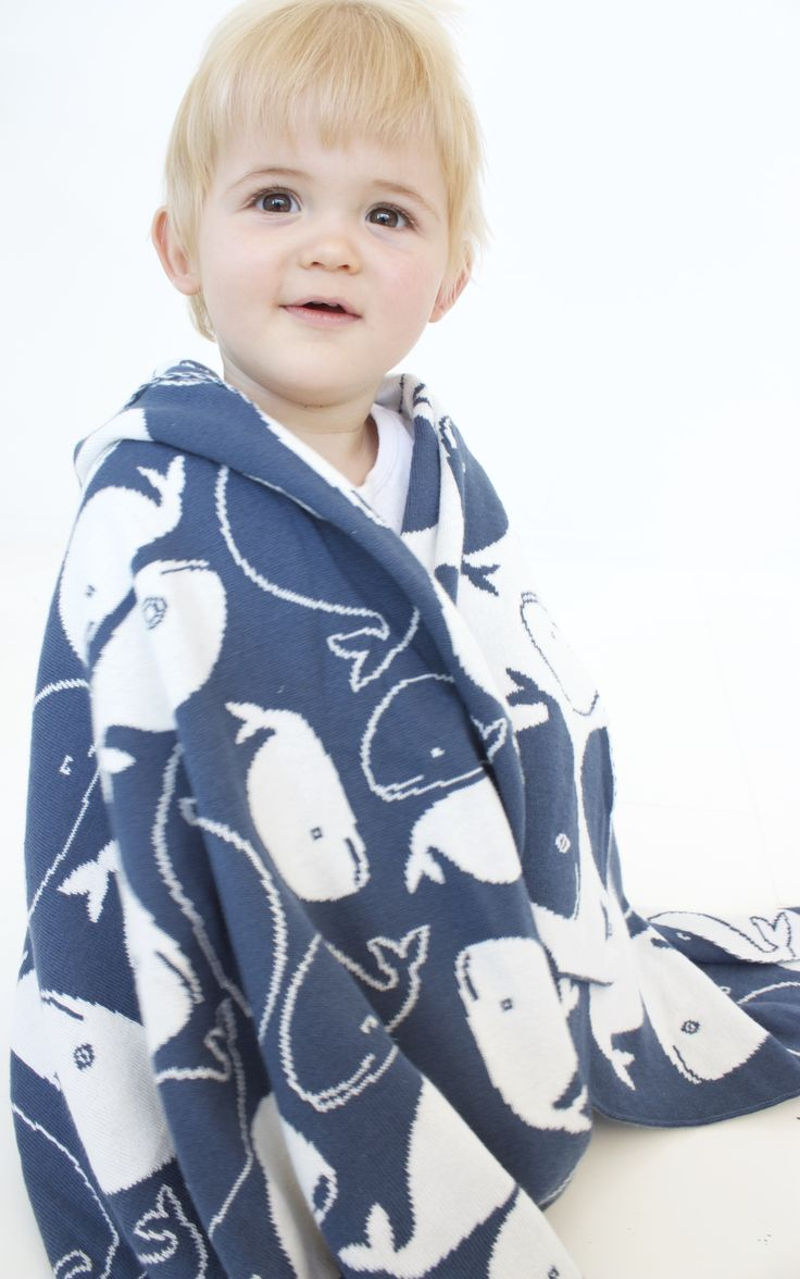 Blue Whale Baby Blanket NZ $49, suiting either gender - I'm a cute little addition to your collection. Perfectly warm, breathable & [attention Mum's] machine washable.