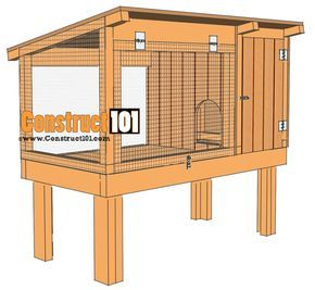 how to set up your bunny hutch