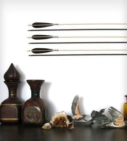 Coffee & Cream Decorative Arrow Set by Fletcher and Fox on Scoutmob Shoppe