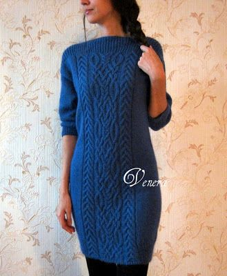 Knitting Stories by Venera: Knitted dress