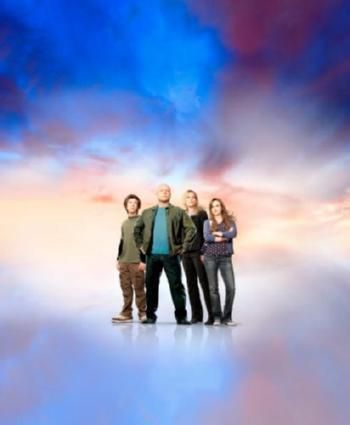 No Ordinary Family Poster Standup 4inx6in