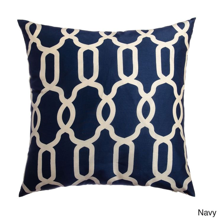 These Athena Decorative pillows will add a dash of luxury to any sofa or chair. This set of two throw pillows features a knife edge that will coordinate beautifully with your design theme.