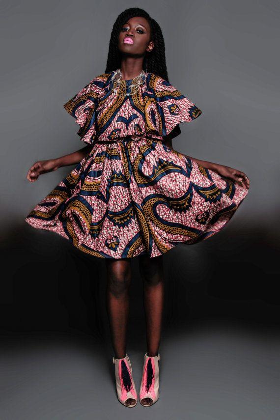 NEW The Kells Dress by DemestiksNewYork on Etsy ~Latest African Fashion, African Prints, African fashion styles, African clothing, Nigerian style, Ghanaian fashion, African women dresses, African Bags, African shoes, Nigerian fashion, Ankara, Kitenge, Aso okè, Kenté, brocade. ~DKK