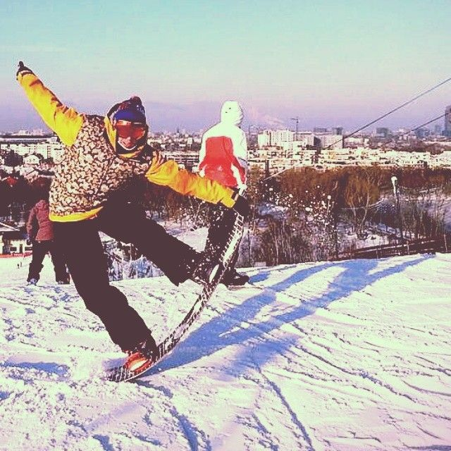Tailblock time!  #tailblock #snowboarding #in #Warsaw
