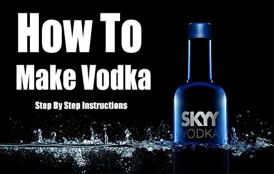 How To Make Vodka, alcohol, how to make alcohol, moonshine, frugal, vodka, homemade vodka, homemade, shtf, barter items,