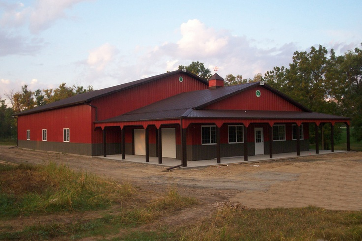 Shop house combo barn pictures pinterest sports for House and barn combination plans