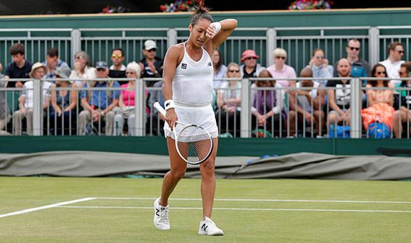 Downbeat Heather Watson opens up on early Wimbledon exit and battling Twitter trolls