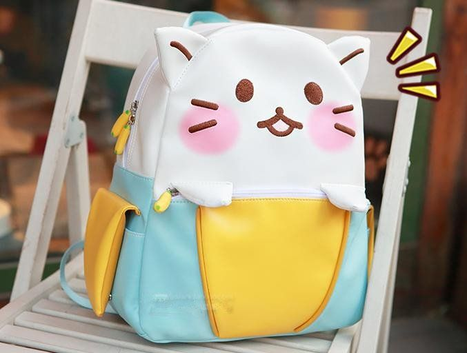 Kawaii Cat Leisure Backpack SP168541