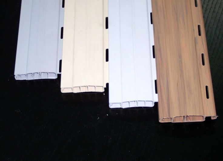 Láminas PVC con folio imitación madera.