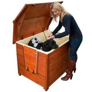 DoggyShouse Grooming Kennel | Overstock.com