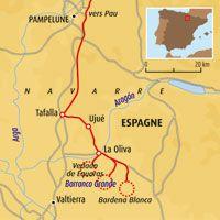 Circuit carte Espagne : Désert Bardenas Reales
