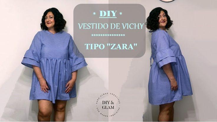 Diy vestido vichy inspirado en Zara | Diy & glam