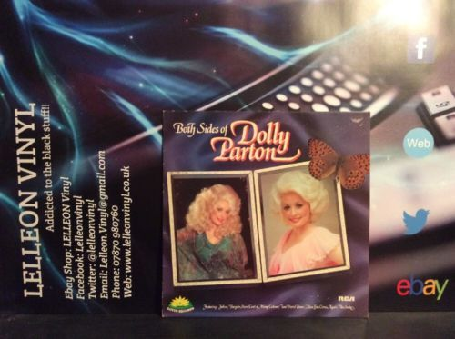 Both Sides Of Dolly Parton LP Album Vinyl Record WH5006 Country & Western 70's Music:Records:Albums/ LPs:Country