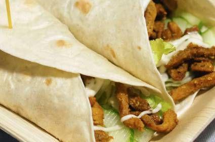 Wraps met shoarma en salade voor ieder budget