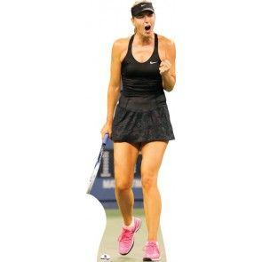 Maria Sharapova Lifesize Cardboard Cutout 255